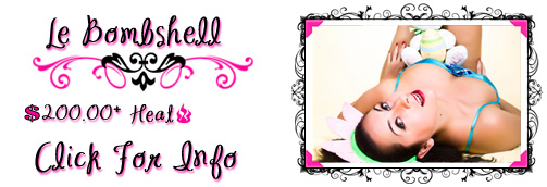 Le Bombshell Pin Up Banner