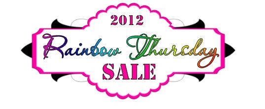 Rainbow Thursday Sale